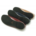 New patent leather ballet shoes slipper style.