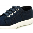 Cotton canvas Sneaker bamba style shoes.