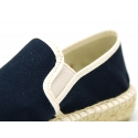 New Classic Combined cotton canvas espadrille shoes.