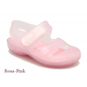 Jelly shoes with hook and loop strap for the Beach and Pool.