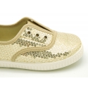 New Cotton canvas Bamba shoes with SEQUINS design.