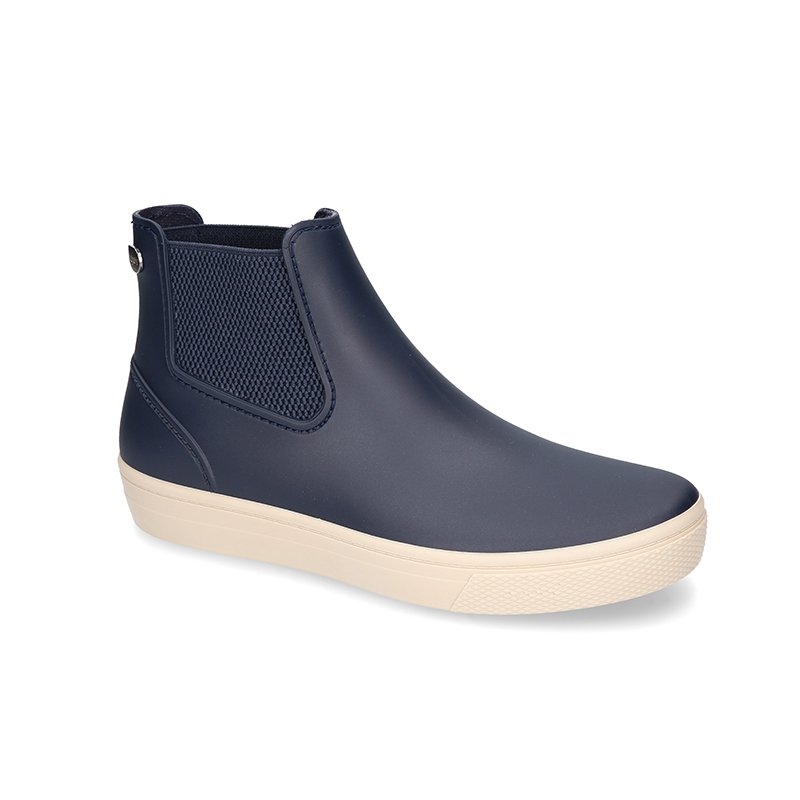 bff7e3042e Ankle rain boots with elastic band and SNEAKER DESIGN.