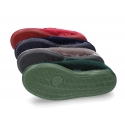 Mercedita estilizada con Velcro botón en terciopelo