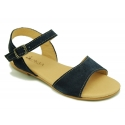 Suede leather Sandal shoes for toddler girl.