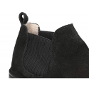 New Classic ankle boots with ribbed elastic band design.