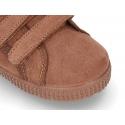 Autumn winter canvas BAMBAS shoes laceless.