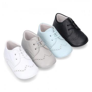 d6bcd98e263 Tienda de zapato tipo inglés Blucher para Bebés (tallas 16-20 ...