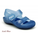 Jelly shoes with velcro strap for the Beach and Pool.