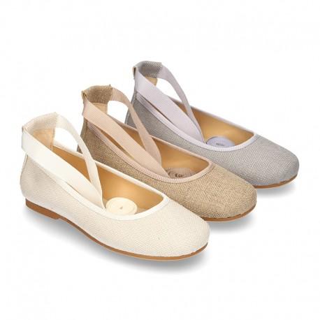 9467166e Okaaspain, tienda online de bailarinas tipo ballet ceremonia con ...