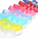 New CLOG Tennis style jelly shoes for Beach and Pool.