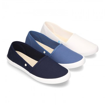 Cotton Canvas CAMPING type shoes.