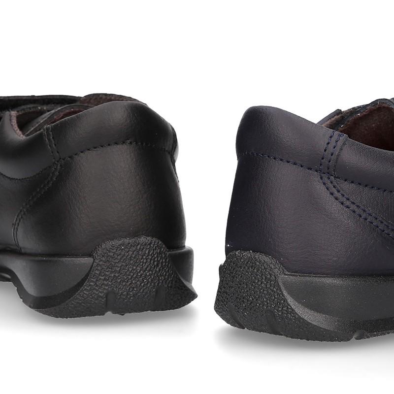 a7b3fa55 tienda online tipo de de Okaaspain piel zapatos colegiales blucher UgwzqqS7