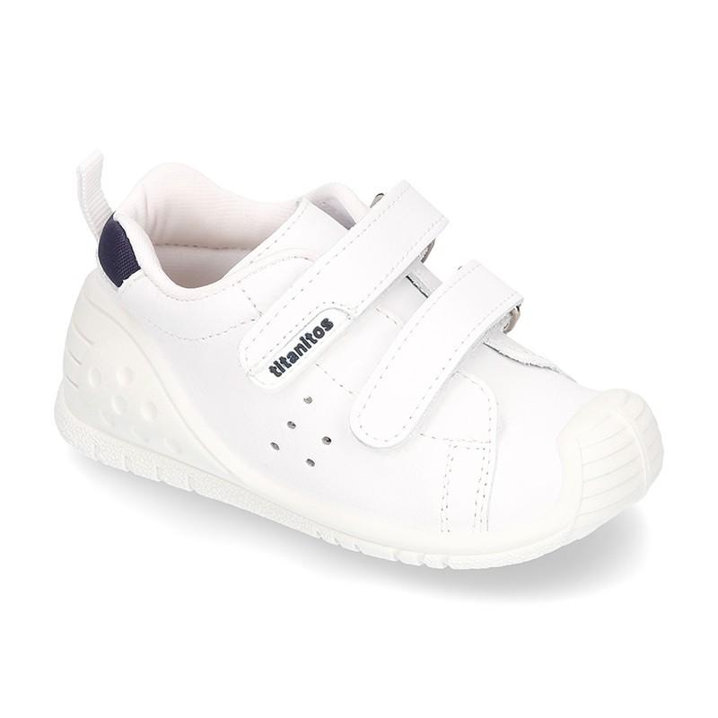 Tienda online de Zapatillas para gateo y primeros pasos de piel ... b43d1e9b862
