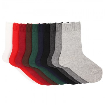 CHILDREN´S COTTON BASIC SHORT SOCKS BY CONDOR.