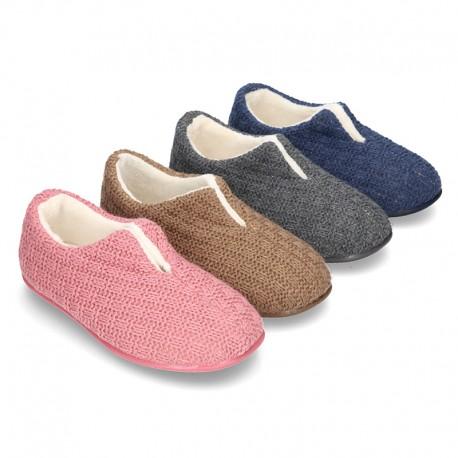 1b216e5d925 Okaaspain tienda online de zapatillas casa con abertura de lana jpg 458x458 Home  shoes