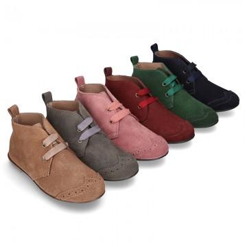 039bf7a6 Tienda de Zapatos tipo Blucher para Niña - OKAASPAIN