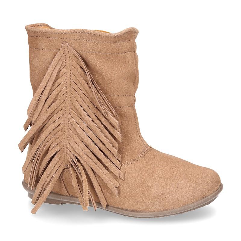 claro y distintivo nuevas variedades gran descuento venta Okaaspain, tienda online de botines y botas de piel serraje ...