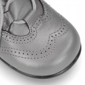 New Nappa Leather Welsh or English style ankle boots for first steps.