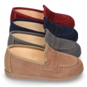 New Autumn winter canvas Moccasin shoes.