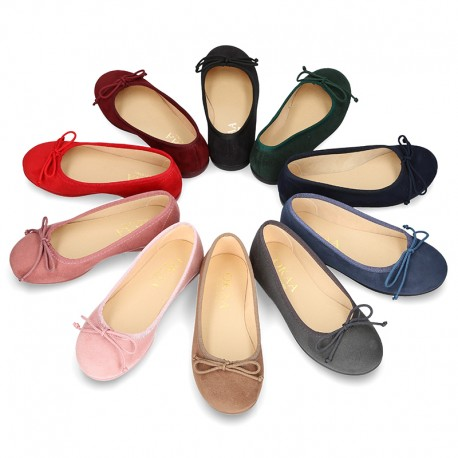 Autumn winter canvas classic Ballet shoes.