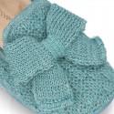 Nuevas zapatillas de casa en lana estructurada con LAZO.