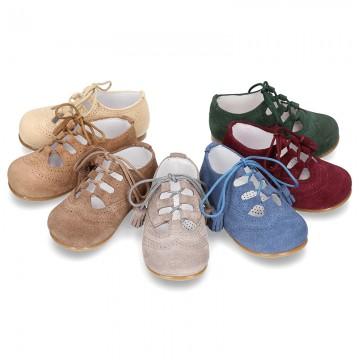 5848ff754 Tienda de Zapatos tipo Inglés Blucher Primeros Pasos para niños y ...