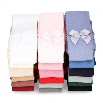 CHILDREN´S BOW TIGHTS BY CONDOR.