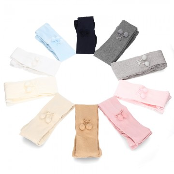 CHILDREN´S POMPONS TIGHTS BY CONDOR.