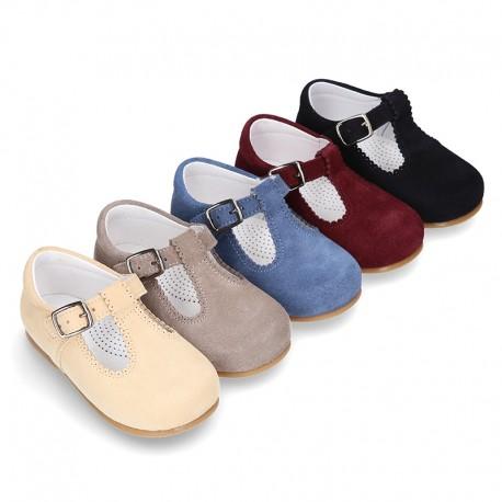 29b4e490 Okaaspain, tienda online de zapatos tipo pepito en piel serraje con ...