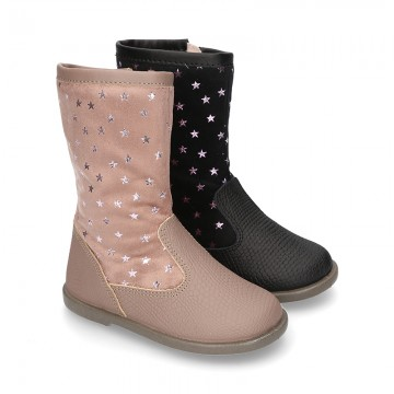 New Nappa leather boots combined with Serratex STARS elastic design.