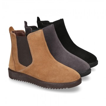 New ankle boot shoes with elastic band.