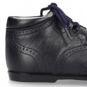 Nappa Leather Welsh or English style ankle boots.