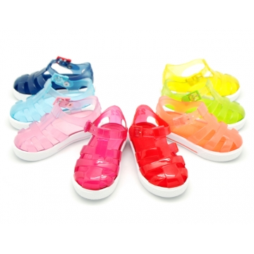 Tennis style jelly shoes for the Beach and Pool.
