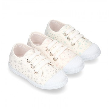 New little ATRO Cotton canvas Sneaker shoes with toe cap for kids.