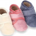 NEPAL Wool knit kids ankle home shoes laceless.