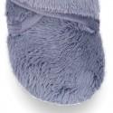 Botita casa niños en lana NEPAL sin cordones.