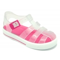 Tennis style kids jelly shoes for the Beach and Pool.