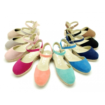 New Soft cotton canvas sandal espadrille shoes.