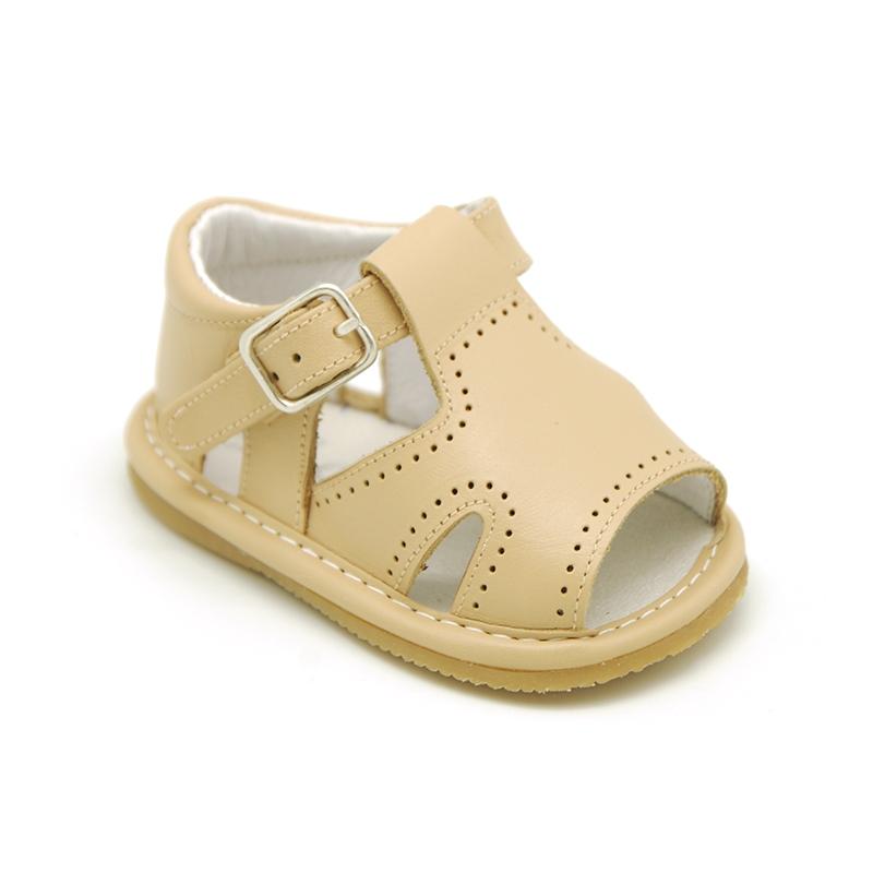 Todos Lamer Paseo  Sandalia en piel suave para niños bebés.