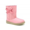 Australian style boot shoes with ribbon for girls.