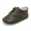 Soft Nappa leather BLUCHER style shoes for baby.