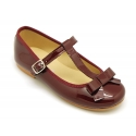 T-Strap Little Mary Jane shoes in patent leather.