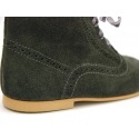 New Pascuala style boots in suede leather.